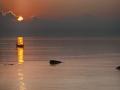 Andaman - Boat at sunrise_VAB8482